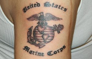 Tattoos In The Marine Corps And The Military